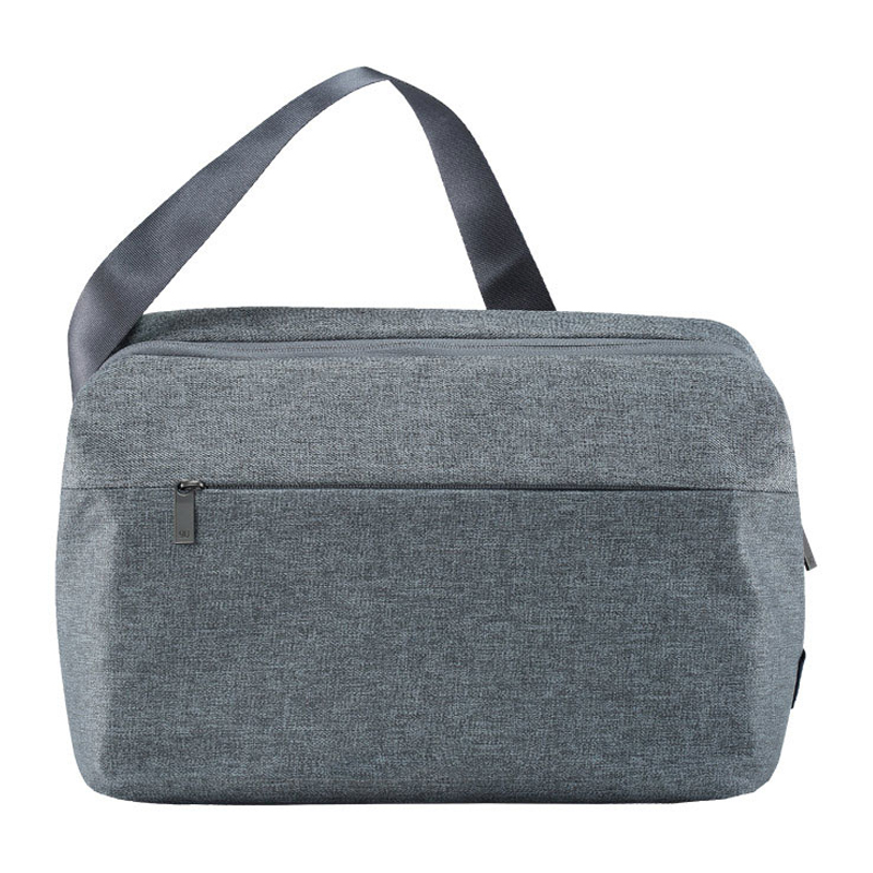 1Сумка на плечо Xiaomi (Mi) 90 Points Basic Urban Messenger Bag (DSYC01RM) Light Gray